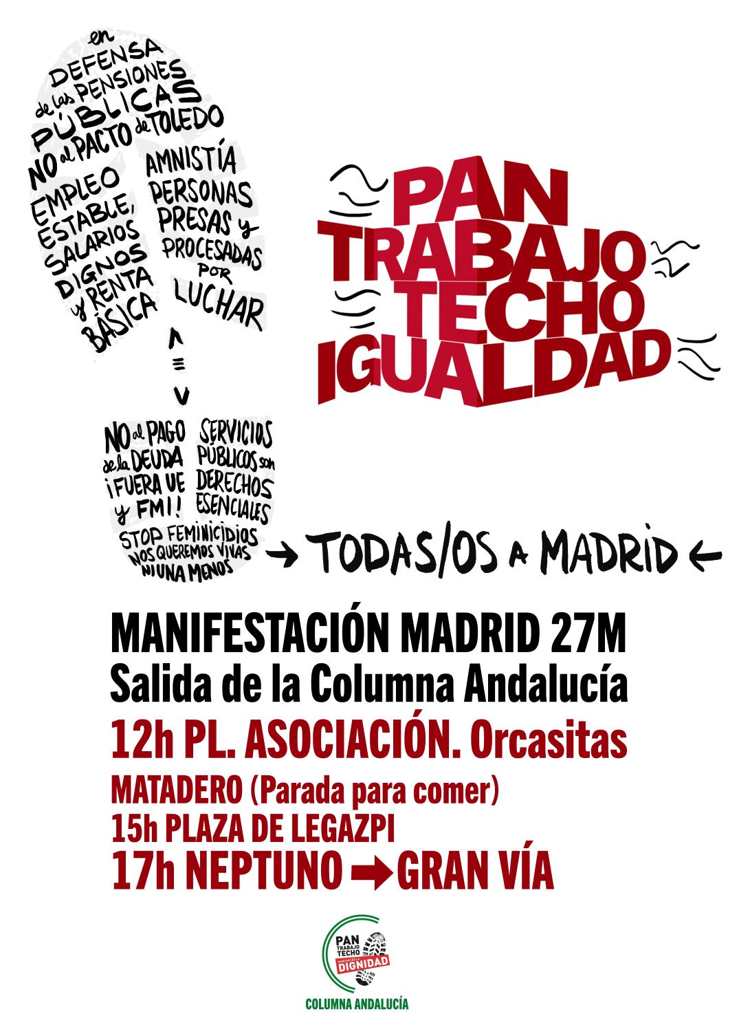 27 MAYO: VOLVEMOS A MADRID